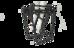 RFR Lowrider Standard Pakethållare svart